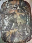 Tölgyfa terepszínű babzsák puff, 44 x 48 cm
